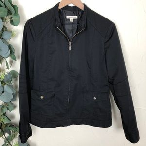 Coldwater Creek | Black Casual Utility Jacket
